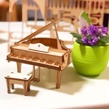 Kigumi - Piano Plywood Puzzle