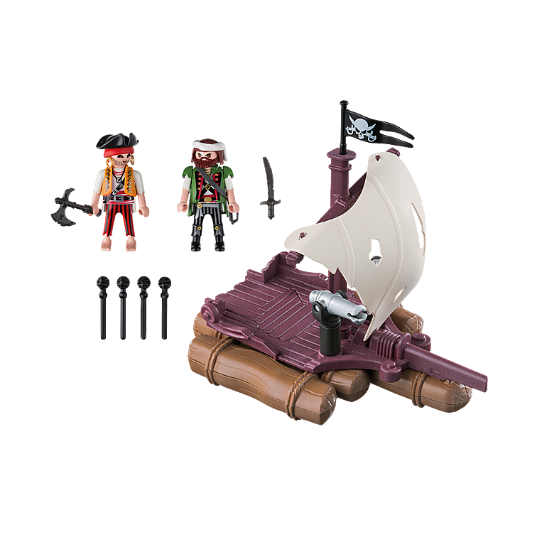 Playmobil - 6682 Pirate Raft
