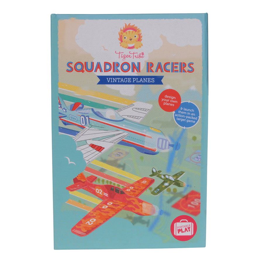 Tiger Tribe - Squadron Racers - Vintage Planes 5+