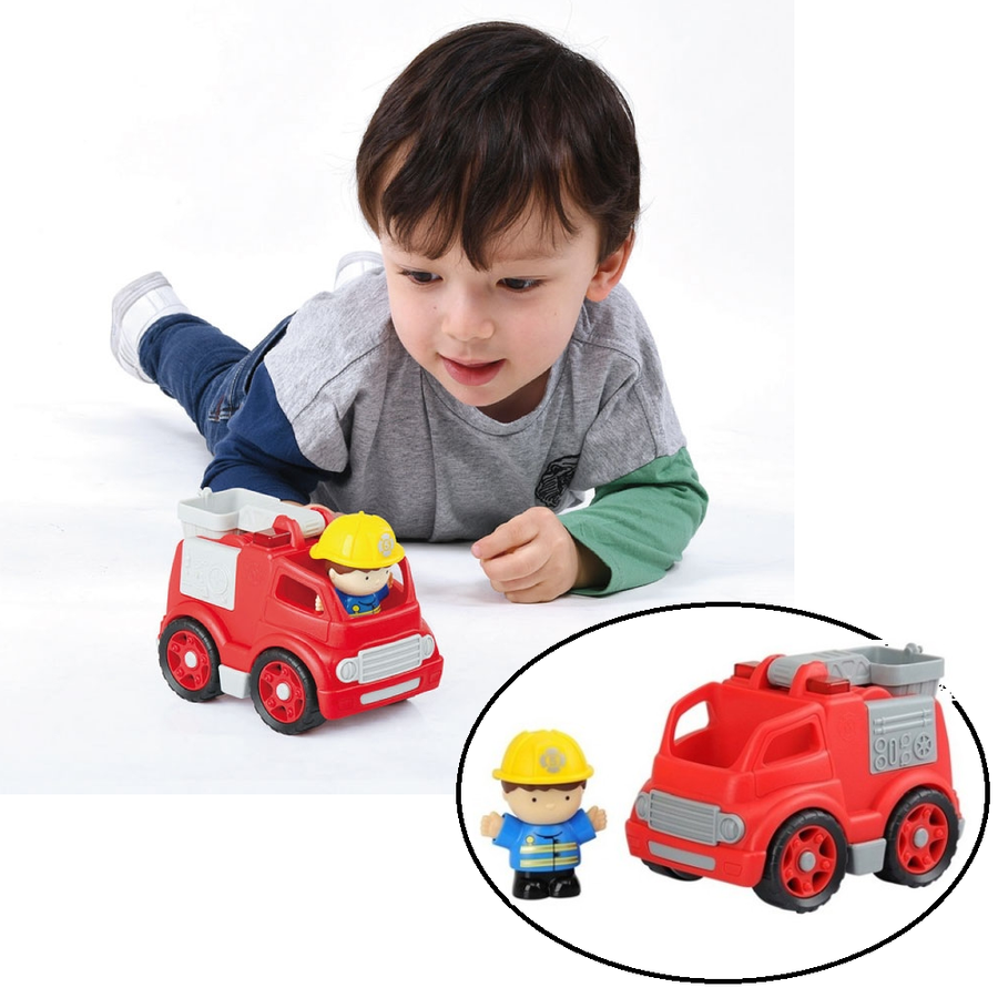 PlayGo - On the Go Fire Engine Mini