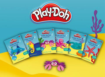 Playdoh - Under the Sea Creatures Assorted