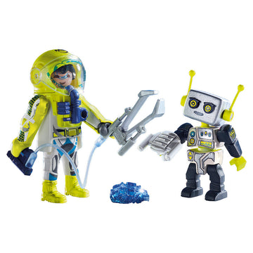 Playmobil - Astronaut & Robot Duo Pack Figures