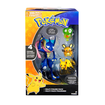 TOMY Pokemon Multi Figure 4 Pack