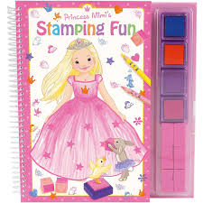 Princess Mimi's Stamping Fun - Activity book
