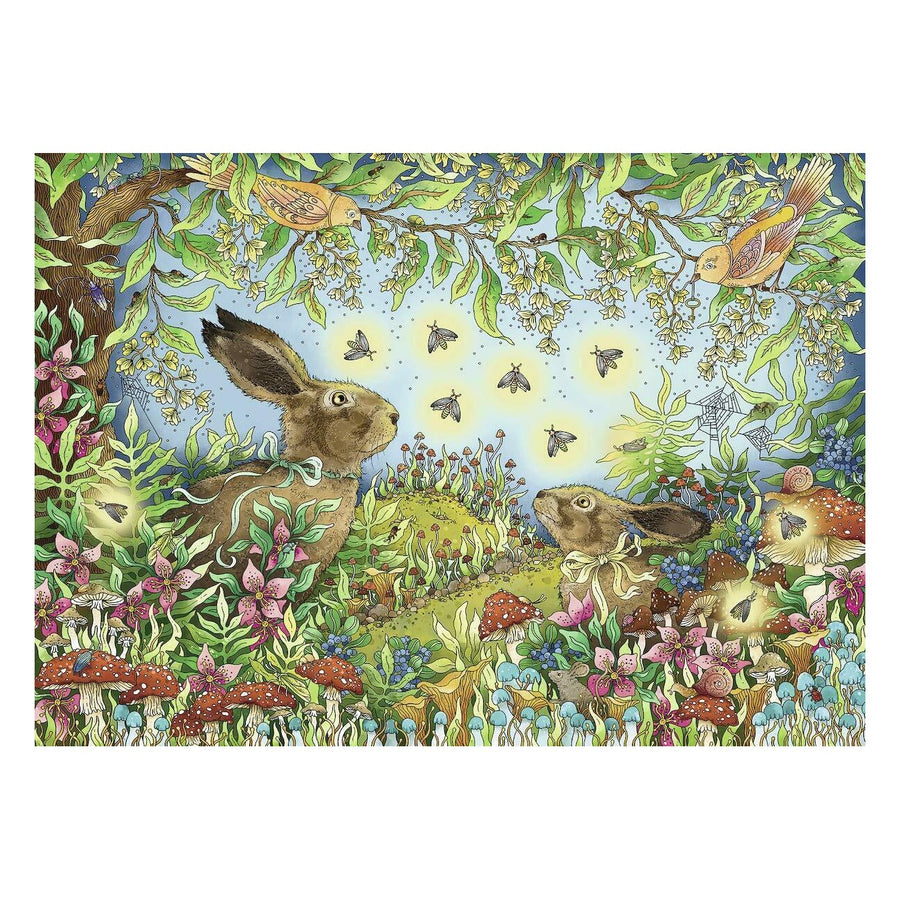 Ravensburger - Nocturnal Forest Magic Puzzle 1000pc