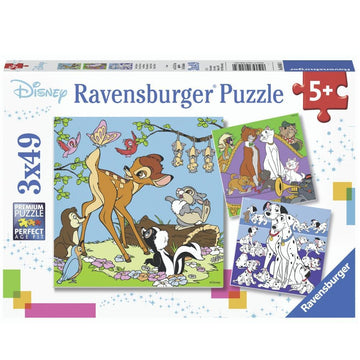 Ravensburger - Disney Friends Puzzle 3x49pc
