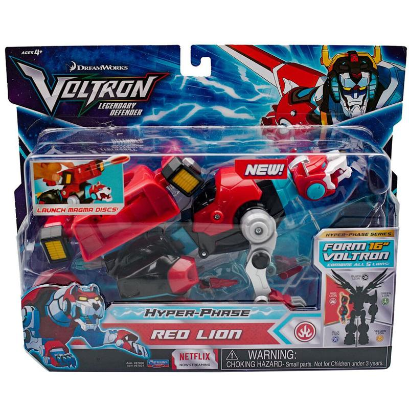 VOLTRON Hyper Phase Red Lion
