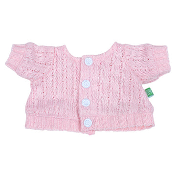 Rubens Barn Kids Doll Clothes - Pink Cardigan