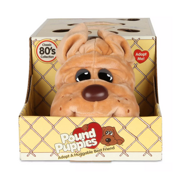Pound Puppies™ 80s Classic Collection - Light Brown Rumple Skin Puppy