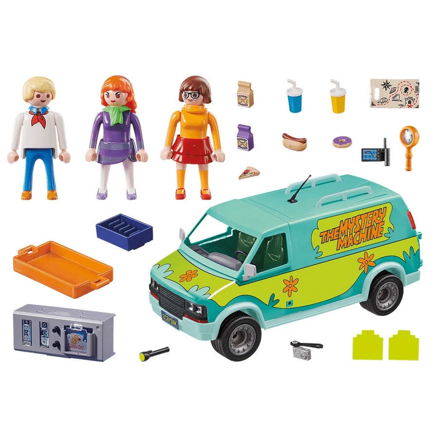 Playmobil - 70286 Scooby Doo Mystery Machine Van