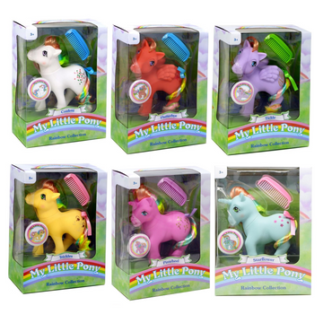 My Little Pony - Rainbow Collection (Series 2) - Full Set of 6