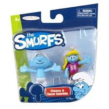 The Smurfs Figure - SET of 4 (Duo Pack)