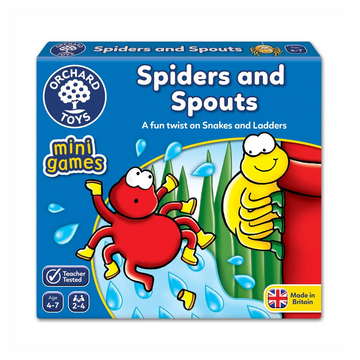 Orchard Toys - Spiders and Sprouts Mini Game 4-7yo