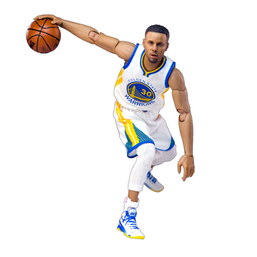 Enterbay - NBA Stephen Curry 1:9 Scale Action Figure