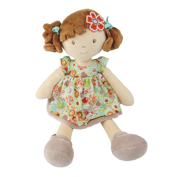 Bonikka Flower Kid Doll - Summer with Brunette Hair