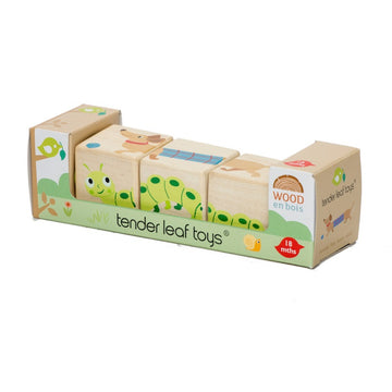 Tender Leaf Toys - Wooden Twisting Cubes