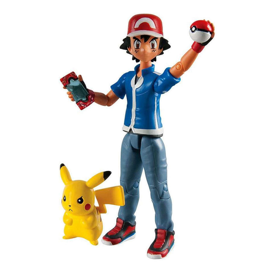 Pokemon Ash & Pikachu (standing) Action Figure Tomy