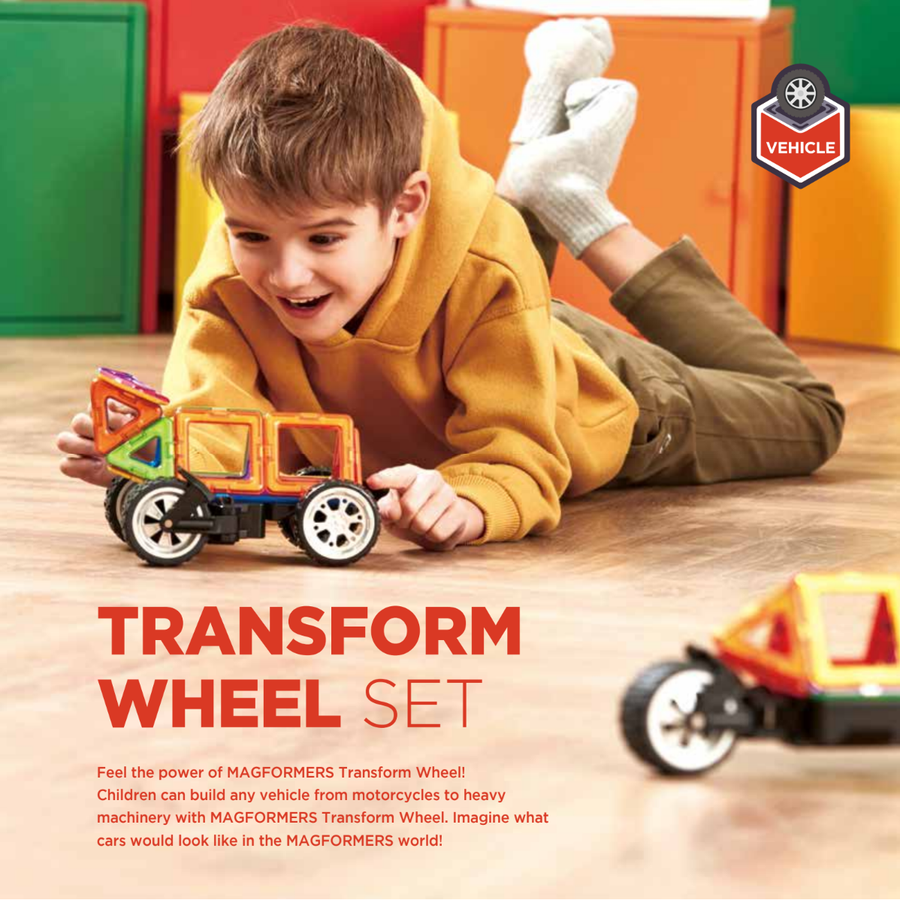 Magformers Amazing Transform Wheel Set