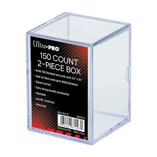 Ultra Pro 150 Card Storage Box