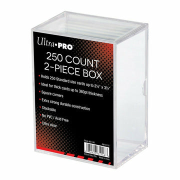 Ultra Pro 250 Card Storage Box