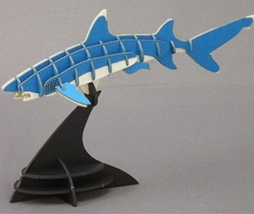 Urano Land - Shark 3D Paper Puzzle Art