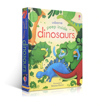 Usborne - Peep inside Dinosaurs - Children's book