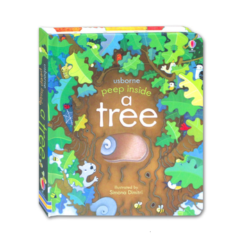 Usborne - Peep inside a tree - Children's book