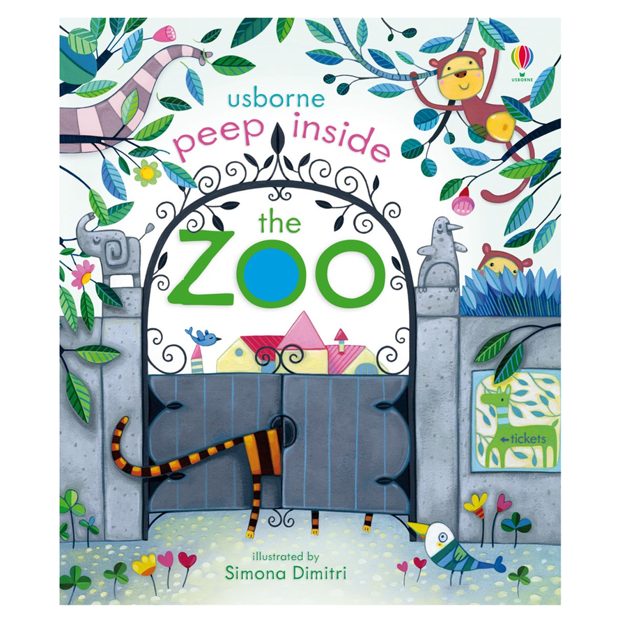 Usborne - Peep inside the Zoo - Children's book