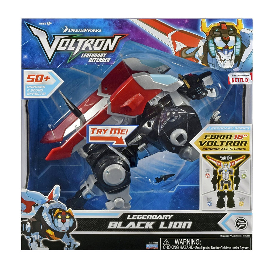 VOLTRON Cloaked Black Lion