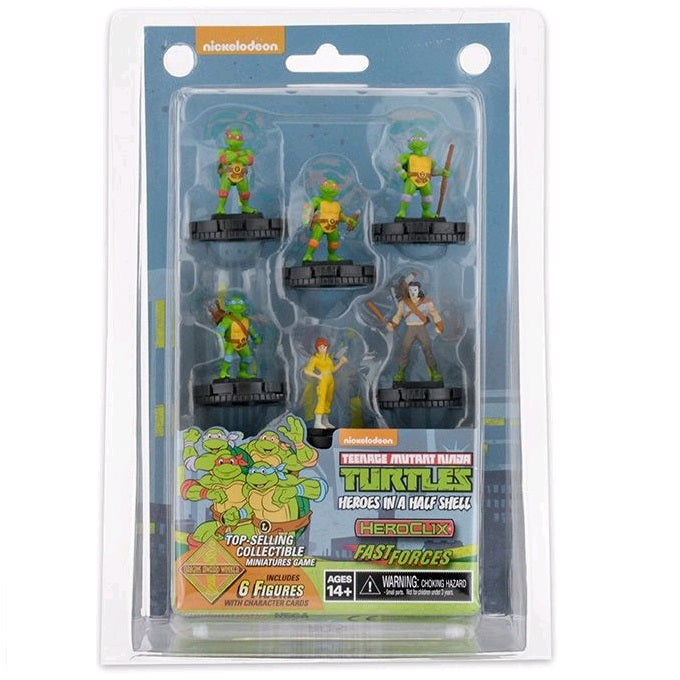Teenage Mutant Ninja Turtles - Heroes in a Half Shell Figurine 6Pk