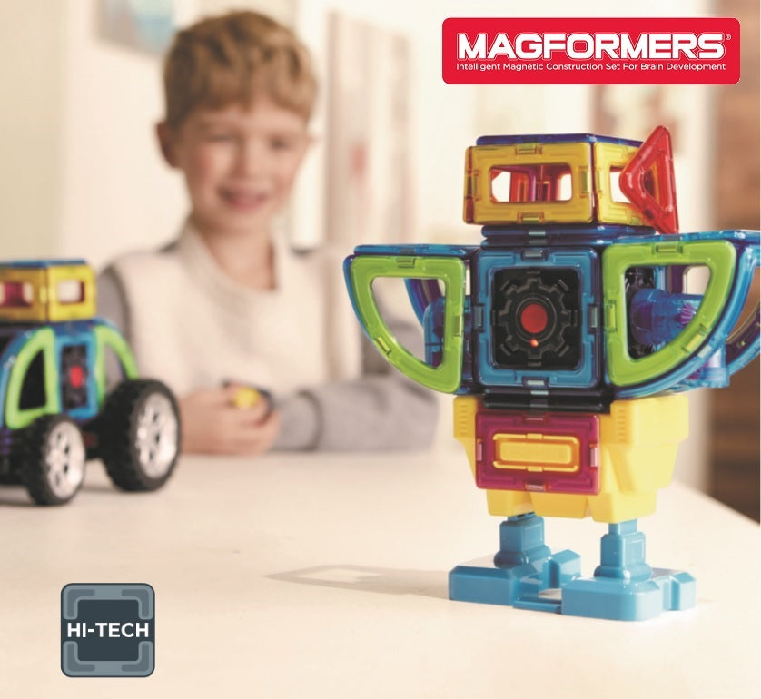Magformers Walking Robot Car Set
