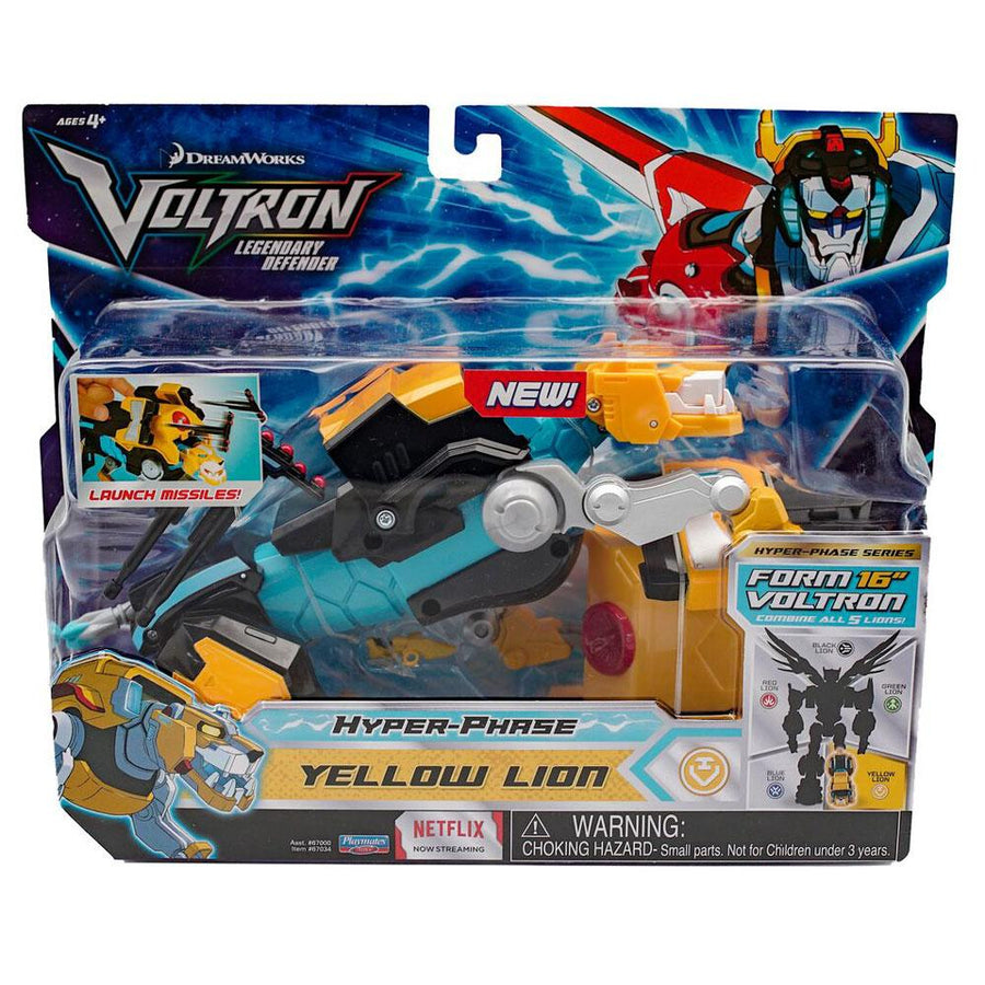 VOLTRON Hyper Phase Full Set of 5 Lions