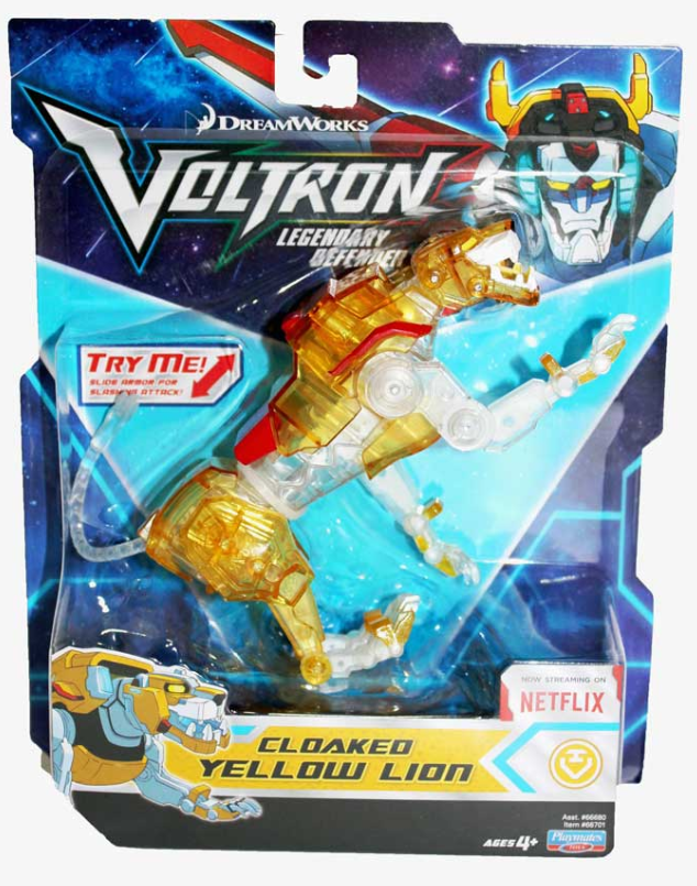 VOLTRON Cloaked Yellow Lion