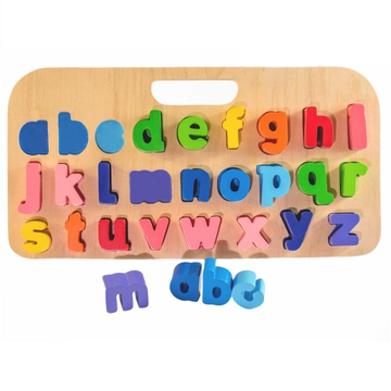 Kiddie Connect - Carry Around abc Alphabet Puzzle (Lowercase)