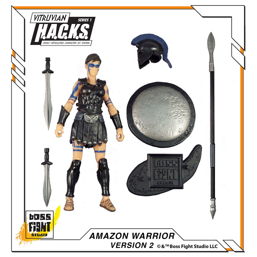 VITRUVIAN H.A.C.K.S. - Series 1 - AMAZON WARRIOR (Ares Army)