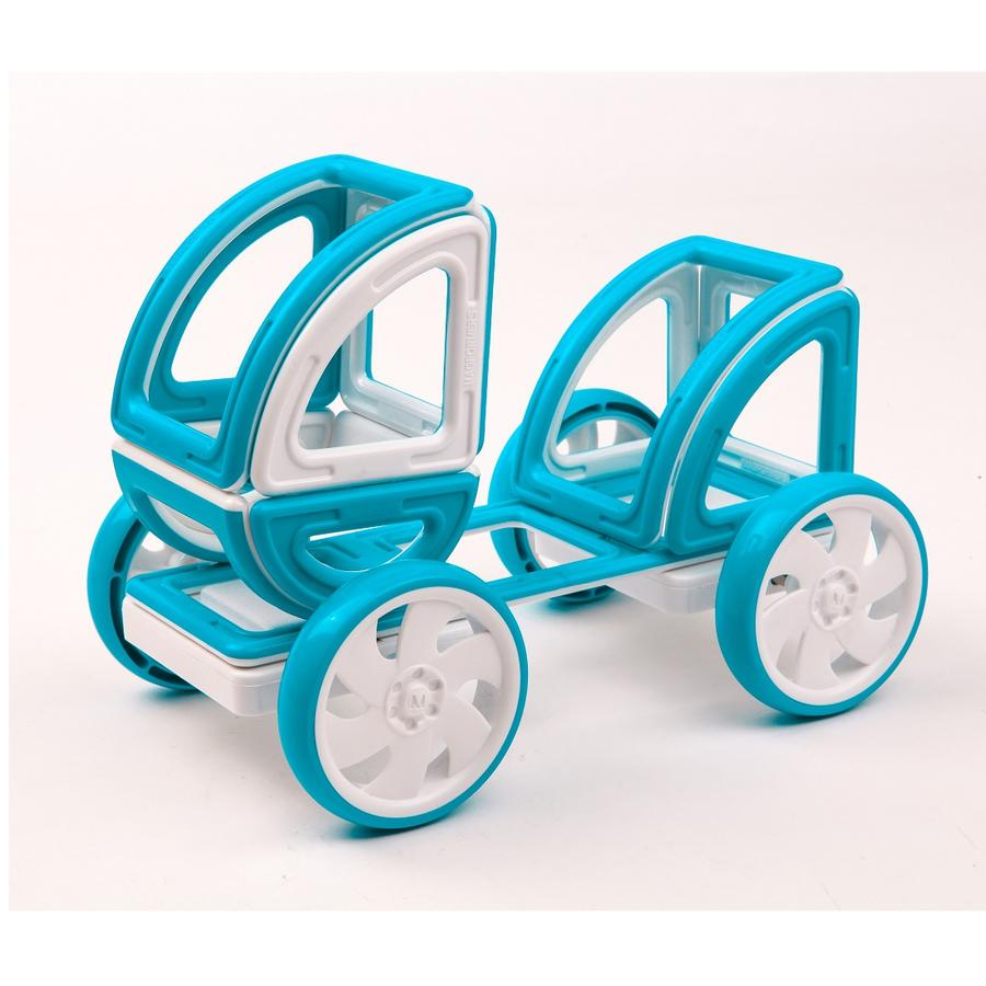 Magformers Single Wheel Set 2pc - Blue