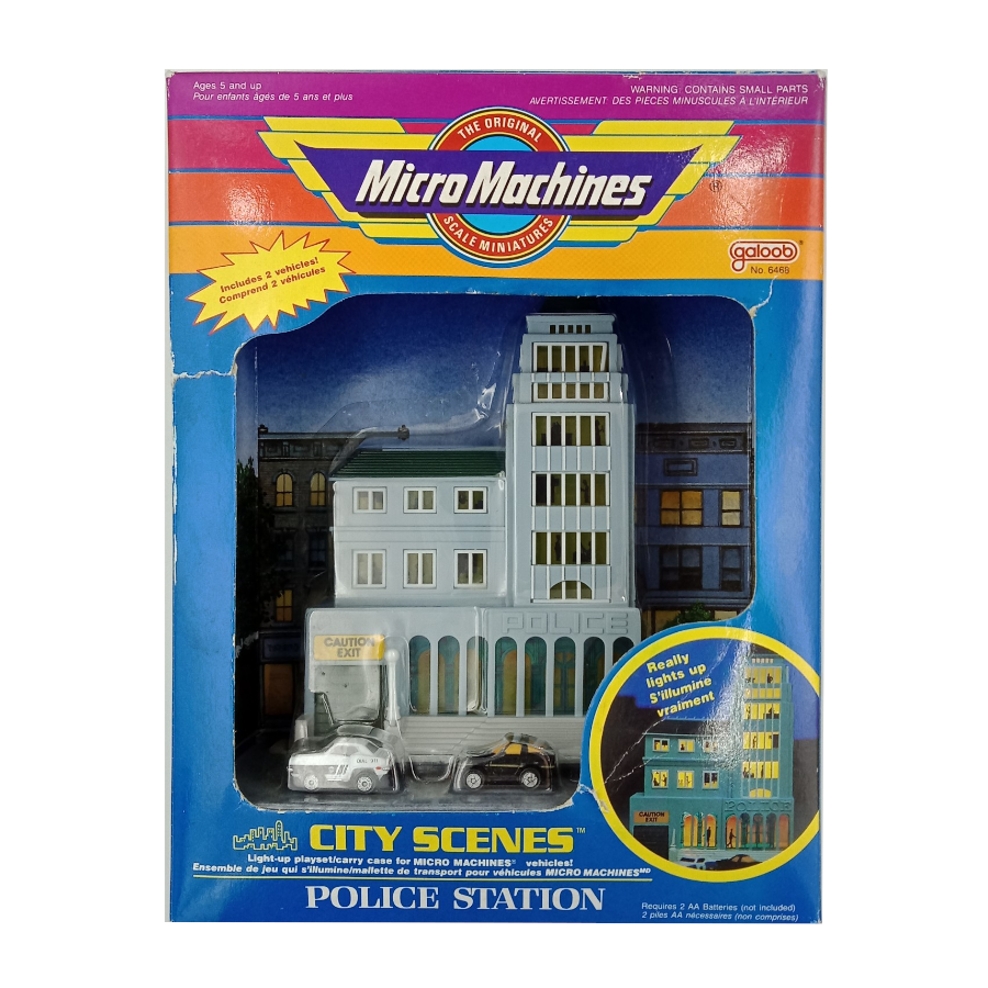 Micro Machines - City Scenes - Police Station