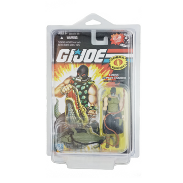 GI Joe 25th Anniversary - Cobra Reptile Trainer: Croc Master