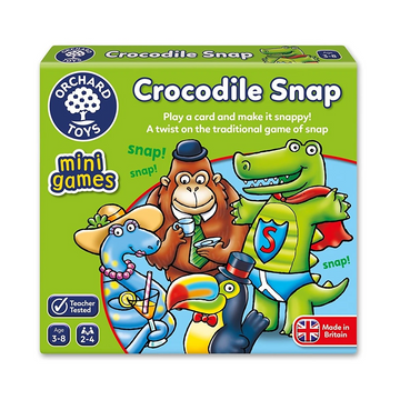 Orchard Toys - Crocodile Snap Mini Game 3-8yo