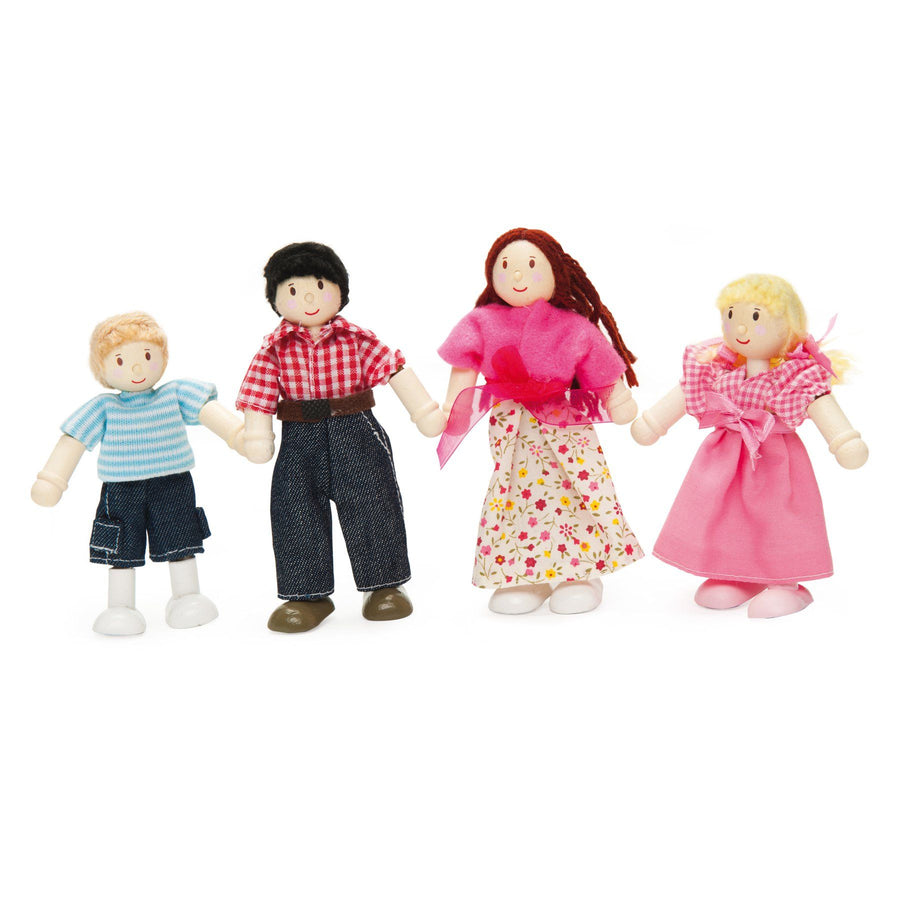 Le Toy Van Daisylane Wooden Dolly Family