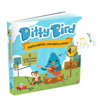 Ditty Bird - Instrumental Children's Songs Musical Board Book
