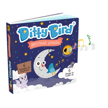 Ditty Bird - Bedtime Songs Board Book