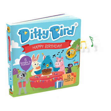 Ditty Bird - Happy Birthday Board Book