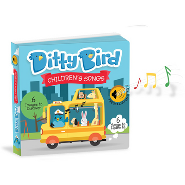 Ditty Bird - Children's Songs Musical Board Book
