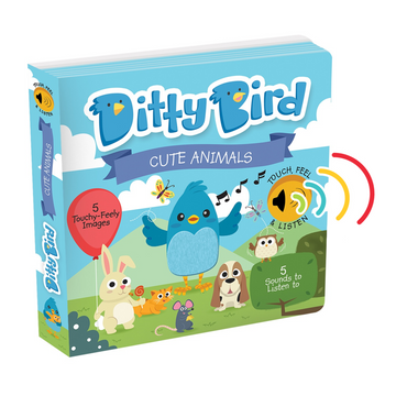 Ditty Bird - Cute Animals Musical Board Book