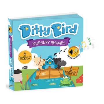 Ditty Bird - Nursery Rhymes Musical Board Book