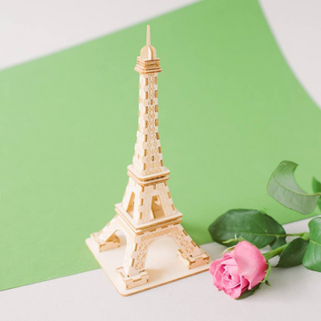 Kigumi - Eiffel Tower Small 3D Plywood Puzzle