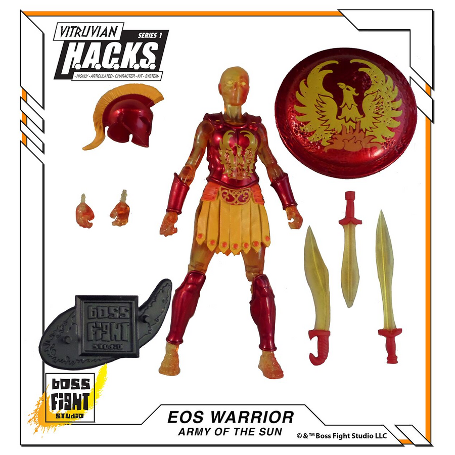 VITRUVIAN H.A.C.K.S. - Series 1 - EOS WARRIOR (Army of the Sun)