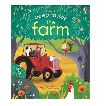 Usborne - Peep inside the Farm - Children's Book