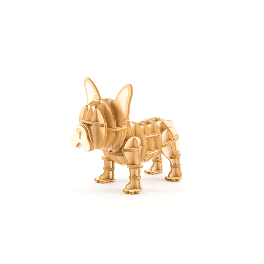 Kigumi - French Bulldog Plywood Puzzle
